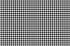 Μαύρο τετραγωνικό σχέδιο στο άσπρο υπόβαθρο Στοκ Φωτογραφία