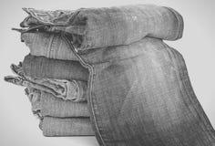 Μαύρο τζιν Jean Στοκ εικόνες με δικαίωμα ελεύθερης χρήσης