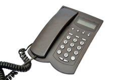 μαύρο τηλέφωνο Στοκ φωτογραφίες με δικαίωμα ελεύθερης χρήσης