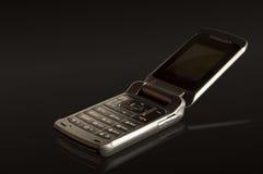 μαύρο τηλέφωνο Στοκ εικόνες με δικαίωμα ελεύθερης χρήσης