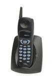 μαύρο τηλεφωνικό ραδιόφωνο στοκ εικόνες