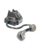 Μαύρο τηλέφωνο Στοκ Εικόνες
