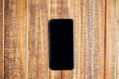 μαύρο τηλέφωνο Στοκ Φωτογραφία