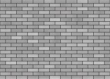Μαύρο τούβλο Bumpmap Στοκ Εικόνες