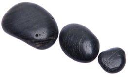 μαύρο τρίο πετρών Στοκ Εικόνες