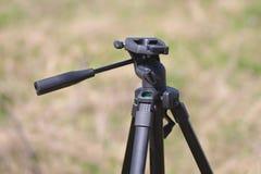 Μαύρο τρίποδο στοκ φωτογραφίες με δικαίωμα ελεύθερης χρήσης