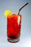 μαύρο τσάι λεμονιών πάγου Στοκ Εικόνα