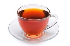 μαύρο τσάι φλυτζανιών Στοκ εικόνες με δικαίωμα ελεύθερης χρήσης