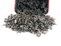 μαύρο τσάι στοκ φωτογραφία