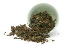 Μαύρο τσάι Peart στοκ φωτογραφίες
