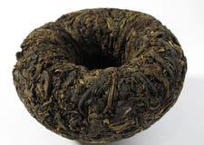μαύρο τσάι puer puerh στοκ εικόνα