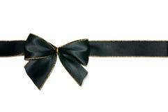 μαύρο τόξο Στοκ Εικόνα