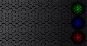 Μαύρο υπόβαθρο άνθρακα Στοκ Εικόνες