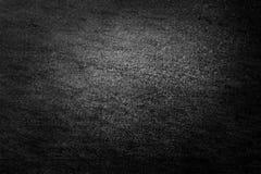 Μαύρο υπόβαθρο ή γκρίζο υπόβαθρο με τον αφηρημένο τρύγο grunge Στοκ Φωτογραφίες