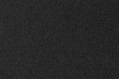 Μαύρο υπόβαθρο και σύσταση πλαστικού υλικού άνευ ραφής Στοκ Φωτογραφία