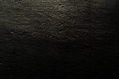 Μαύρο υπόβαθρο καμβά που φωτίζονται από και τρύγος grunge πίσω Στοκ Φωτογραφία