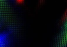 Μαύρο υπόβαθρο με το κόκκινο και πράσινο backlight Στοκ Εικόνες