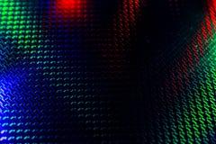 Μαύρο υπόβαθρο με το κόκκινο και πράσινο backlight Στοκ Εικόνα