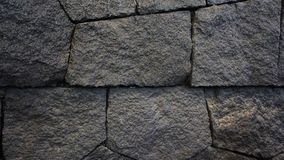 Μαύρο υπόβαθρο πετρών Στοκ Φωτογραφία