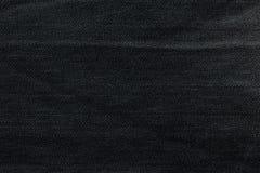 Μαύρο υπόβαθρο, υπόβαθρο τζιν τζιν Σύσταση τζιν, ύφασμα Στοκ εικόνες με δικαίωμα ελεύθερης χρήσης