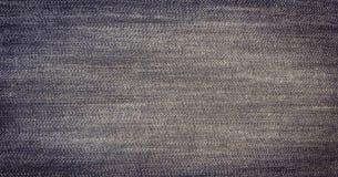 Μαύρο υπόβαθρο, υπόβαθρο τζιν τζιν, ύφασμα σύστασης τζιν Στοκ Φωτογραφίες