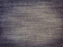 Μαύρο υπόβαθρο, υπόβαθρο τζιν τζιν, ύφασμα σύστασης τζιν Στοκ φωτογραφίες με δικαίωμα ελεύθερης χρήσης
