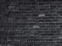 Μαύρο υπόβαθρο τοίχων τούβλων, περίληψη στοκ φωτογραφίες