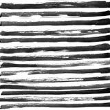 Μαύρο υπόβαθρο λωρίδων μελανιού αφηρημένο συρμένο χέρι στοκ εικόνα με δικαίωμα ελεύθερης χρήσης