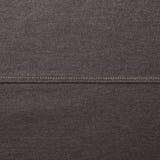 Μαύρο υλικό τεμάχιο υφασμάτων τζιν Στοκ Εικόνες