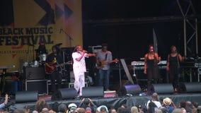 Μαύρο φεστιβάλ μουσικής του Λιντς απόθεμα βίντεο