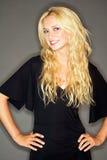 μαύρο φόρεμα λίγα Στοκ φωτογραφίες με δικαίωμα ελεύθερης χρήσης