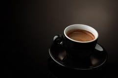 Μαύρο φλιτζάνι του καφέ Στοκ Εικόνες