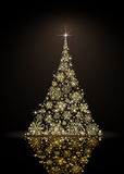 μαύρο χριστουγεννιάτικ&omicron Στοκ φωτογραφία με δικαίωμα ελεύθερης χρήσης