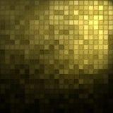 μαύρο χρυσό μωσαϊκό Στοκ εικόνα με δικαίωμα ελεύθερης χρήσης