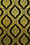 μαύρο χρυσό πρότυπο στοκ φωτογραφία με δικαίωμα ελεύθερης χρήσης