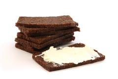 μαύρο ψωμί Στοκ Φωτογραφία