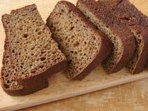 μαύρο ψωμί Στοκ Εικόνες