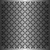 Μαύρο ωοειδές διάνυσμα σχεδίων στο μεταλλικό υπόβαθρο διανυσματική απεικόνιση