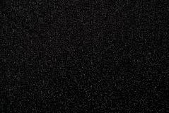 Μαύρο ύφασμα με το μπροκάρ Στοκ εικόνα με δικαίωμα ελεύθερης χρήσης