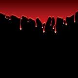 μαύρο dribble αίματος ελεύθερη απεικόνιση δικαιώματος