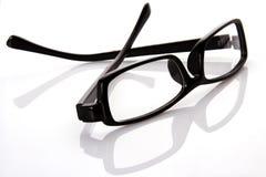 μαύρο eyeglasses πλαίσιο Στοκ φωτογραφία με δικαίωμα ελεύθερης χρήσης