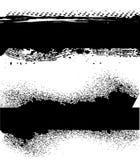 μαύρο grunge εμβλημάτων Στοκ φωτογραφίες με δικαίωμα ελεύθερης χρήσης
