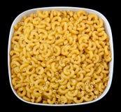 μαύρο macaroni αγκώνων στοκ φωτογραφία με δικαίωμα ελεύθερης χρήσης