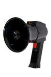 μαύρο megaphone μικρό στοκ εικόνες