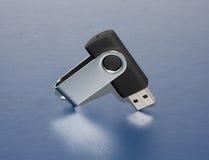 Μαύρο USB Στοκ Φωτογραφία