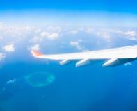Μαλδίβες, υδροπλάνο Στοκ φωτογραφία με δικαίωμα ελεύθερης χρήσης