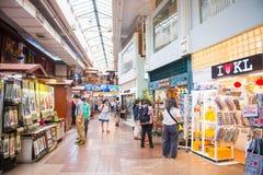 Μαλαισία - 12 Feuary 2017:: Κεντρική αγορά να ψωνίσει μέσα Στοκ Εικόνα