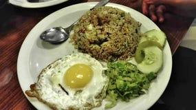 Μαλαισιανά πιάτα ύφους στοκ εικόνες