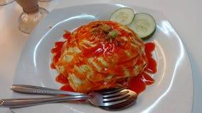 Μαλαισιανά πιάτα στοκ φωτογραφία με δικαίωμα ελεύθερης χρήσης