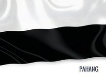 Μαλαισιανή σημαία κρατικού Pahang Στοκ Εικόνα